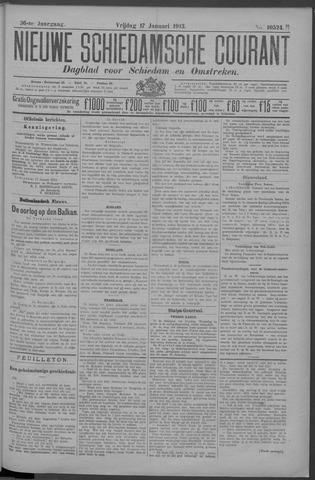 Nieuwe Schiedamsche Courant 1913-01-17