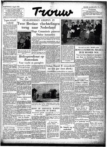 Trouw / De Rotterdammer 1953-04-08