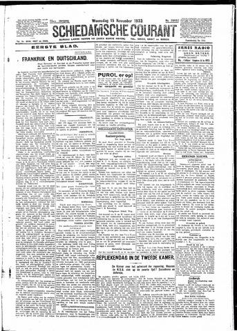 Schiedamsche Courant 1933-11-15