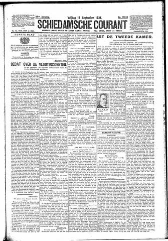 Schiedamsche Courant 1931-09-18