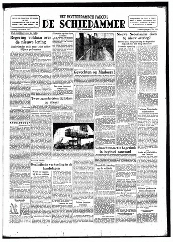 Rotterdamsch Parool / De Schiedammer 1947-08-09