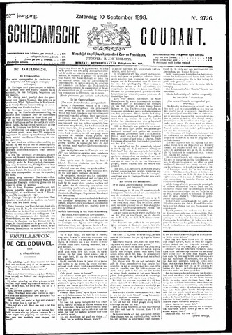 Schiedamsche Courant 1898-09-10