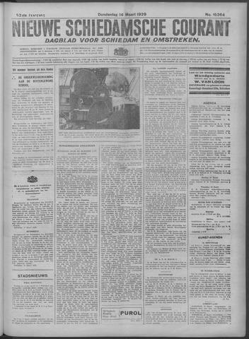 Nieuwe Schiedamsche Courant 1929-03-14