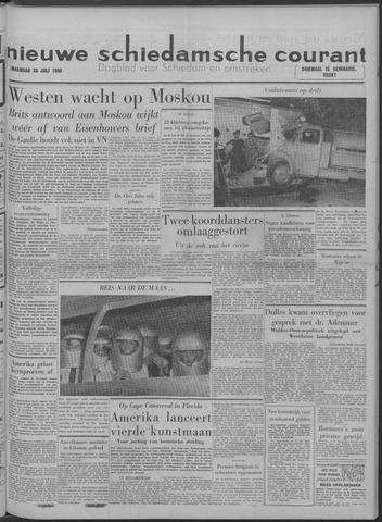 Nieuwe Schiedamsche Courant 1958-07-28