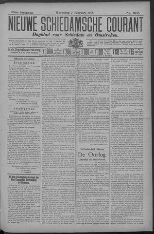 Nieuwe Schiedamsche Courant 1917-02-07