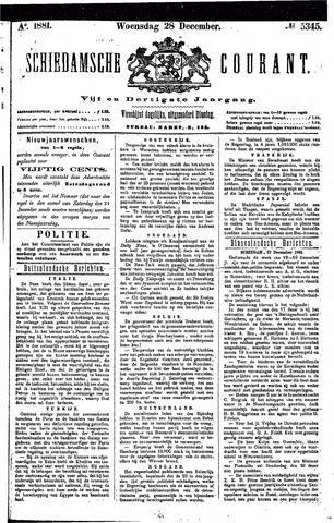Schiedamsche Courant 1881-12-28