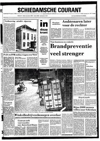Rotterdamsch Nieuwsblad / Schiedamsche Courant / Rotterdams Dagblad / Waterweg / Algemeen Dagblad 1980-08-28