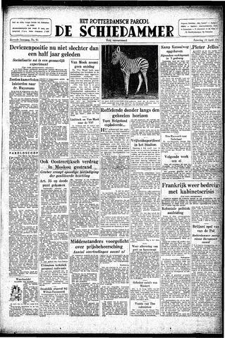 Rotterdamsch Parool / De Schiedammer 1947-04-19