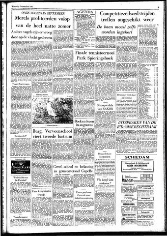 Rotterdamsch Parool / De Schiedammer 1961-09-06