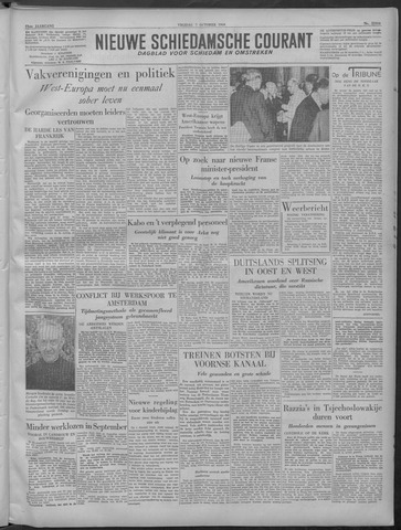 Nieuwe Schiedamsche Courant 1949-10-07