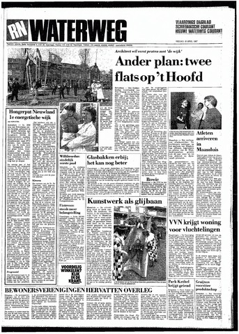Rotterdamsch Nieuwsblad / Schiedamsche Courant / Rotterdams Dagblad / Waterweg / Algemeen Dagblad 1987-04-10