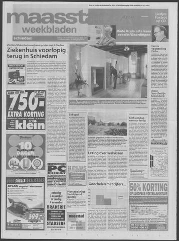 Maaspost / Maasstad / Maasstad Pers 2001-10-24