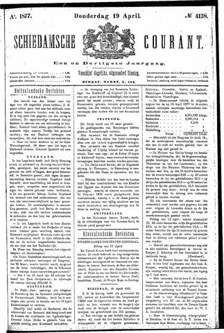 Schiedamsche Courant 1877-04-19