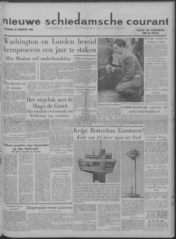 Nieuwe Schiedamsche Courant 1958-08-23