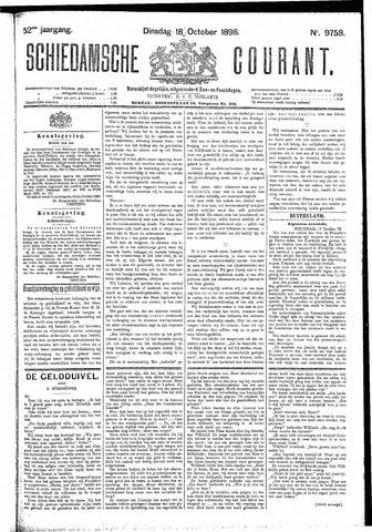 Schiedamsche Courant 1898-10-18