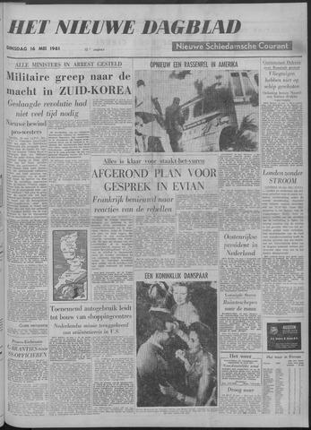 Nieuwe Schiedamsche Courant 1961-05-16