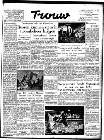 Trouw / De Rotterdammer 1953-12-09