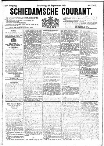 Schiedamsche Courant 1910-09-22