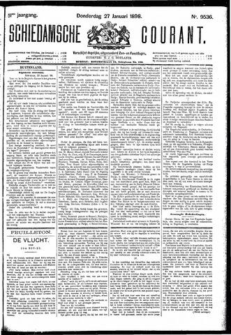 Schiedamsche Courant 1898-01-27