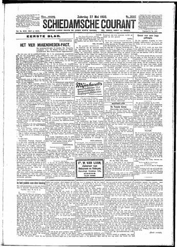 Schiedamsche Courant 1933-05-27