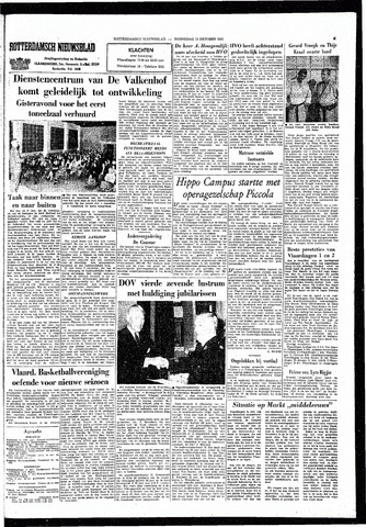 Rotterdamsch Nieuwsblad / Schiedamsche Courant / Rotterdams Dagblad / Waterweg / Algemeen Dagblad 1965-10-13