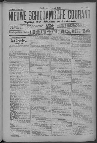 Nieuwe Schiedamsche Courant 1918-04-11