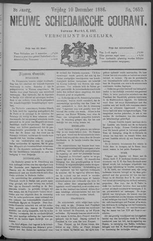 Nieuwe Schiedamsche Courant 1886-12-10