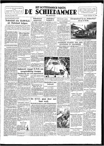 Rotterdamsch Parool / De Schiedammer 1947-10-18