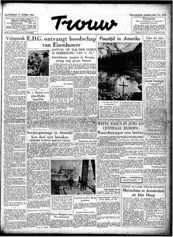 Trouw / De Rotterdammer 1954-04-17