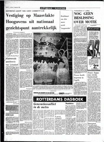 Rotterdamsch Parool / De Schiedammer 1970-12-11