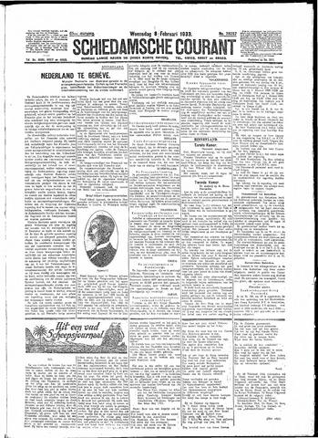 Schiedamsche Courant 1933-02-08
