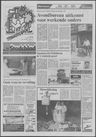 Het Nieuwe Stadsblad 1989-08-25