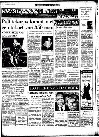 Rotterdamsch Parool / De Schiedammer 1966-11-15