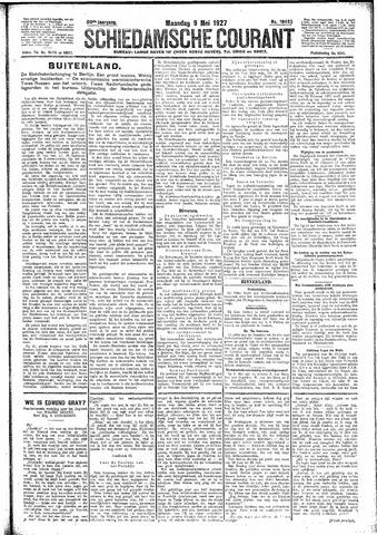 Schiedamsche Courant 1927-05-09