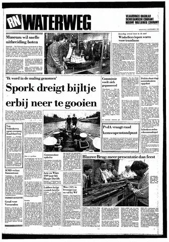 Rotterdamsch Nieuwsblad / Schiedamsche Courant / Rotterdams Dagblad / Waterweg / Algemeen Dagblad 1985-09-02