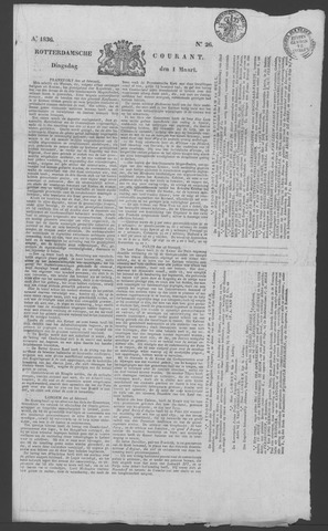 Rotterdamse Courant 1836-03-01