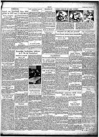 Trouw / De Rotterdammer 1954-01-21