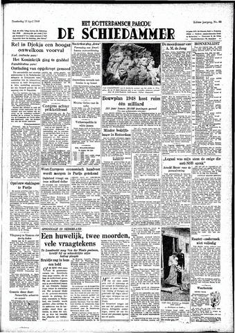 Rotterdamsch Parool / De Schiedammer 1948-04-15