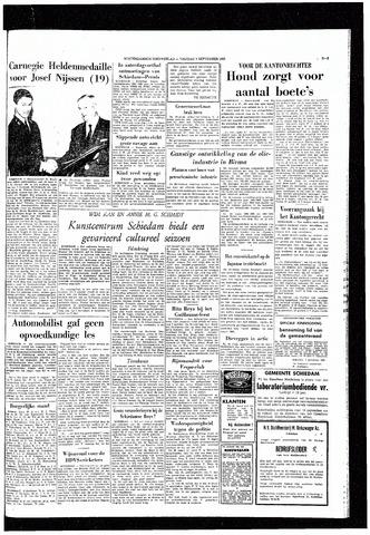 Rotterdamsch Nieuwsblad / Schiedamsche Courant / Rotterdams Dagblad / Waterweg / Algemeen Dagblad 1965-09-03