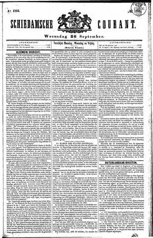 Schiedamsche Courant 1866-09-26