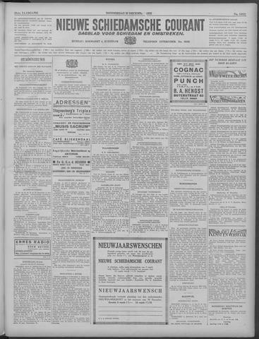 Nieuwe Schiedamsche Courant 1933-12-28