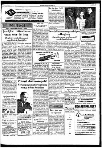 Rotterdamsch Nieuwsblad / Schiedamsche Courant / Rotterdams Dagblad / Waterweg / Algemeen Dagblad 1959-11-04