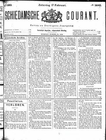 Schiedamsche Courant 1883-02-17