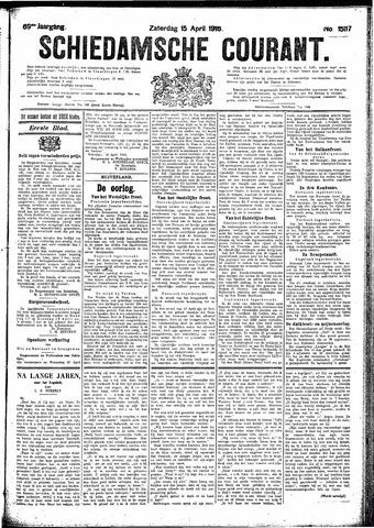 Schiedamsche Courant 1916-04-15