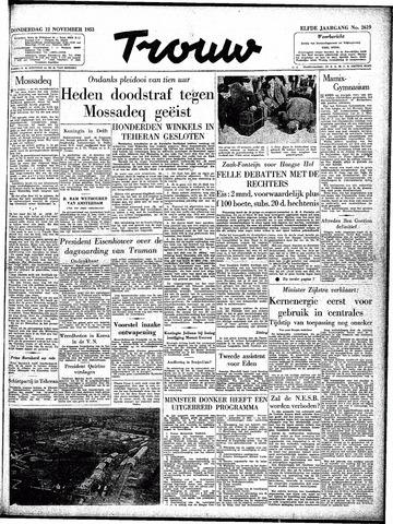Trouw / De Rotterdammer 1953-11-12