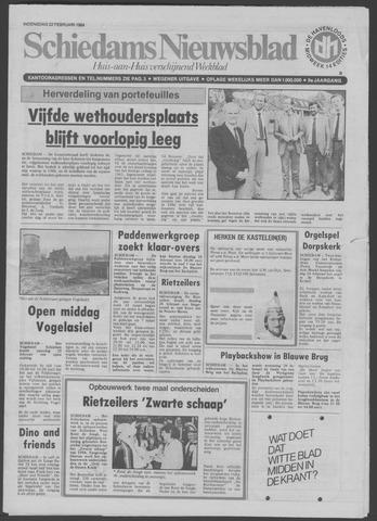 Schiedams Nieuwsblad 1984-02-22