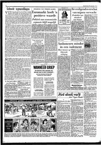 Rotterdamsch Parool / De Schiedammer 1957-09-19