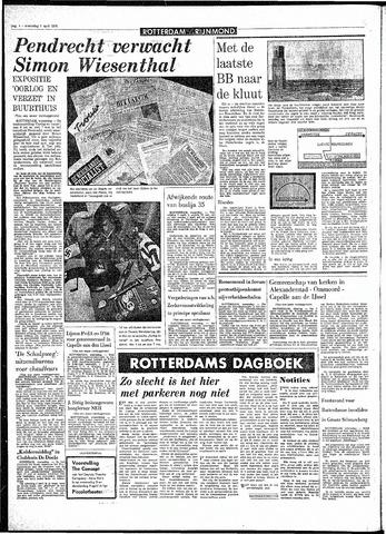 Rotterdamsch Parool / De Schiedammer 1970-04-01