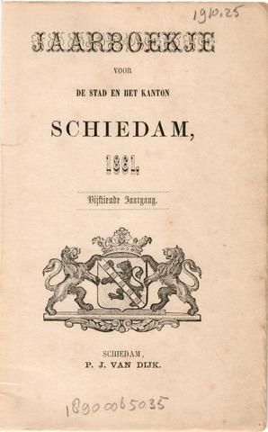 Schiedams Jaarboek 1861-01-01
