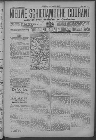 Nieuwe Schiedamsche Courant 1918-04-19